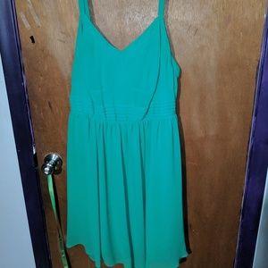 Torrid Green Dress